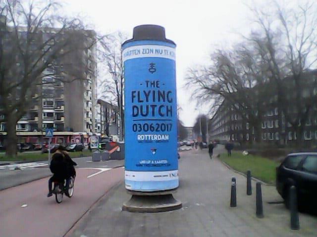 A0 zuilen Rotterdam