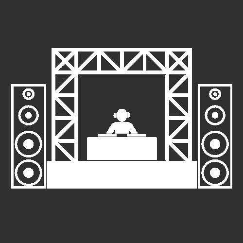 Icoon festival dj booth